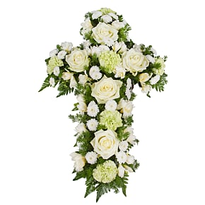 Flower bouquet Classic White Cross