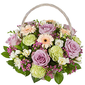 Flower bouquet Sweet Memories Basket