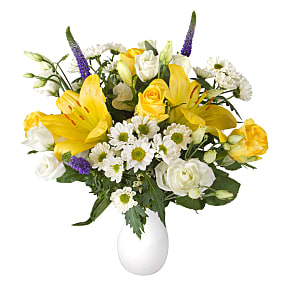 Flower bouquet Yellow Letterbox Flowers