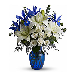 Flower bouquet Blue Horizons
