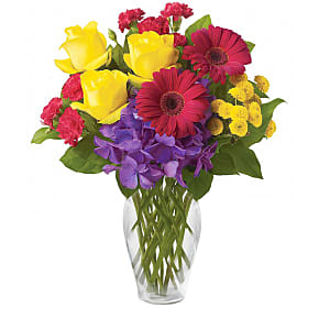 Flower bouquet Colourful Caboodle