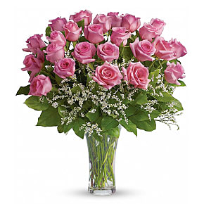 Flower bouquet Two Dozen Long Stemmed Pink Roses