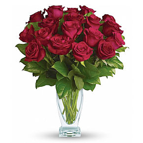 Flower bouquet Eighteen Long Stemmed Red Roses