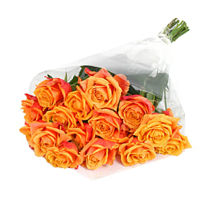Flower bouquet 20 Luxury Orange Roses