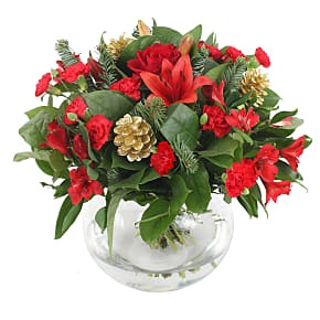 Flower bouquet Christmas Celebration