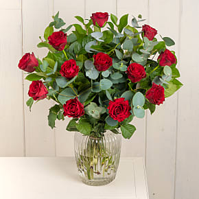 Flower bouquet A Dozen Red Roses