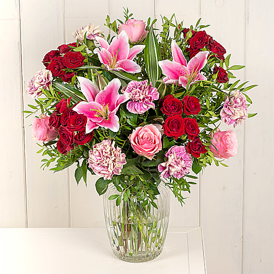 Romantic Flowers - Scarlett Pimpernel