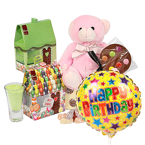 Girls Happy Birthday Gift Box