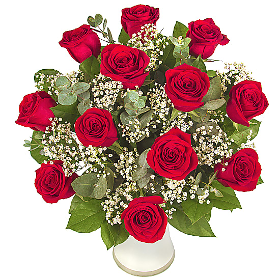 Valentine Flowers Online Across India from Floweraura