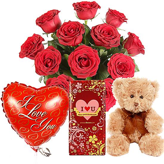 Valentine Gift Set Delivered Next Day