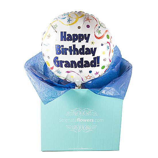 Happy Birthday Grandad Balloon Gift