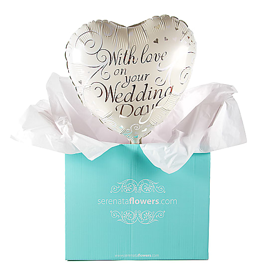 Wedding Day Balloon Gift