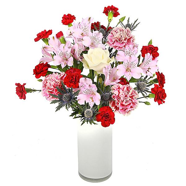 Carnations Sympathy Bouquet