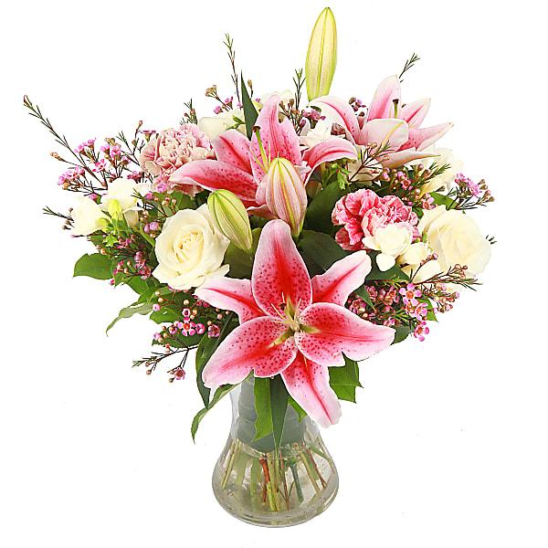 Vintage Flora Rose Bouquet
