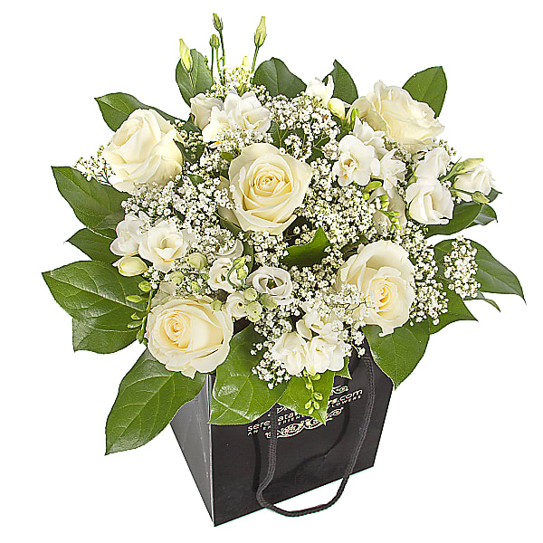 Nuage Bouquet - White Roses