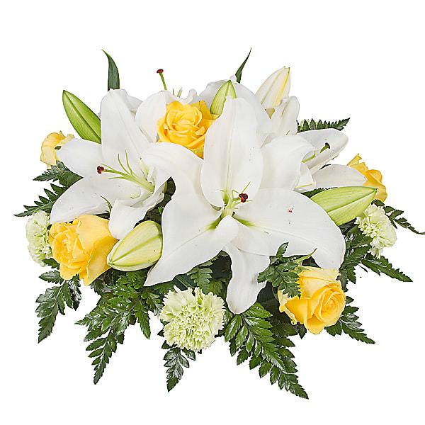 White Lily Posy