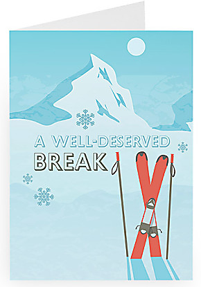 Greeting card A Well Deserved Break