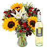 Floral Harvest with White Wine