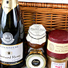 Champagne, Pate and Stilton Hamper
