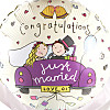 Just Married Balloon Gift