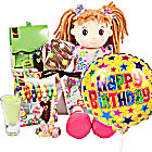 Happy Birthday Rag Doll Gift Box