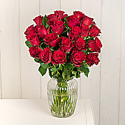 Flower bouquet Two Dozen Red Roses