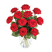 Flower bouquet 12 Luxury Red Roses