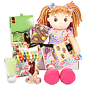 Gift delivery Sweet Rag Doll Gift Box