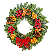 Classic Red Wreath