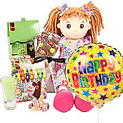 Gift delivery Happy Birthday Rag Doll Gift Box
