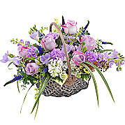 Flower bouquet Fabulously Fragrant Basket