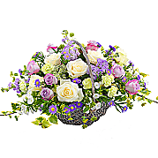 Flower bouquet Country Garden Basket