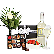 Chardonnay and Luxury Belgian Choco...
