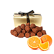 Orange Peel French Dusted Truffles