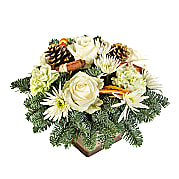Flower bouquet Christmas Sparkle Arrangement