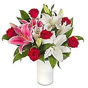 Flower bouquet Classic Rose and Lily