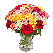 Flower bouquet 30 Mixed Roses
