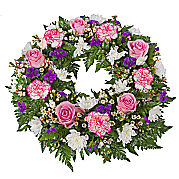 Flower bouquet Classic Pink Wreath