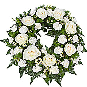 Flower bouquet Classic White Wreath