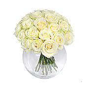 Mass of White Roses