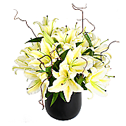 Flower bouquet White Lily Bouquet