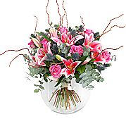 Tiber Lilies and Roses