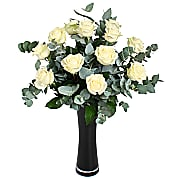 Flower bouquet White Roses Gift Wrap