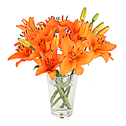 Flower bouquet Tigerlily