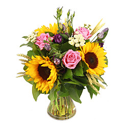 Flower bouquet Country Brights