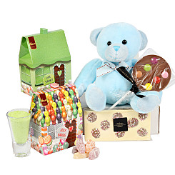 Gift delivery Boys Sweet Teddy Gift Box