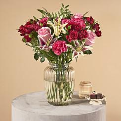 Flower Bouquet Scarlett Pimpernel
