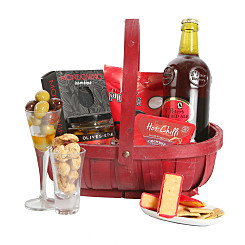 Gift delivery Ale and Cheese Trug