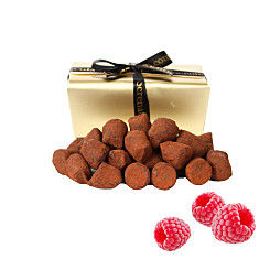 Gift delivery Raspberry French Dusted Truffles