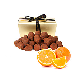 Gift delivery Orange Peel French Dusted Truffles